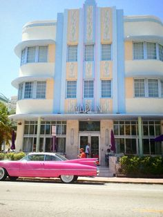 Miami Art Deco - Marlin Hotel