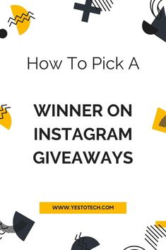 Wondering how to easily choose a winner for an Instagram giveaway? In this Instagram giveaway tutorial, I'll be sharing how to pick a winner on Instagram giveaways. By the end of this video, you'll know exactly how to randomly select a winner for your Instagram giveaway while ensuring that they followed all the rules #instagram #giveaway #contest #marketing #socialmedia #socialmediamarketing Online Marketing Strategies, Email Marketing, Marketing Tools, Digital Marketing, Business Tips, Online Business, Business School, Make Money Online, How To Make Money