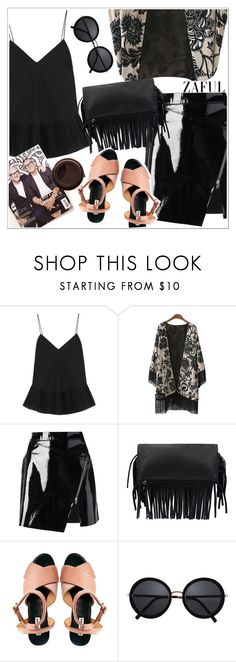"""""""Zaful"""" by teoecar ❤ liked on Polyvore featuring J.Crew, Markus Lupfer and zaful"""