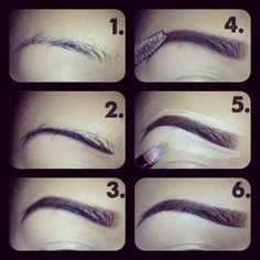 Added By Kim Nguyen. My eyebrow picture tutorial @Bloom.com