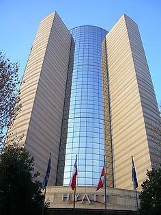Hotel Hyatt, Las Condes, Santiago, Chile.