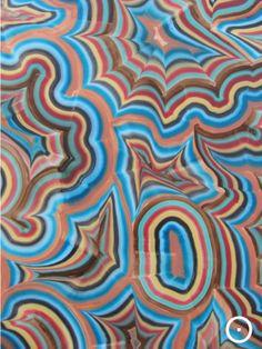 Bernard Frize Color Stripes, Blue Brown, Design Inspiration, Color Art, Texture, Prints, Painting, Patterns, Collection