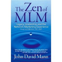 One of the best thought provoking books on network marketing I've ever read.