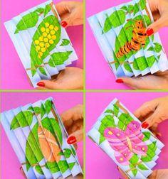 Printable butterfly life cycle agamograph template // Nyomtatható színezhető lepke életciklus varázskép // Mindy - craft tutorial collection // #crafts #DIY #craftTutorial #tutorial #PaperCrafts #KreatívÖtletekPapírból