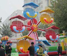 Mini amusement feeris wheel ride for kids