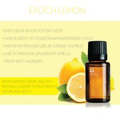 Epoch #Lemon #EssentialOil