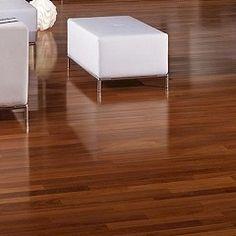 Brazilian Hardwood floors from Triangulo. The high gloss and shine gives an elegant, upscale feel to any room. Brazilian Hardwood, Brazilian Cherry, Hardwood Floors, Flooring, High Gloss, Teak, Elegant, Room, Beautiful