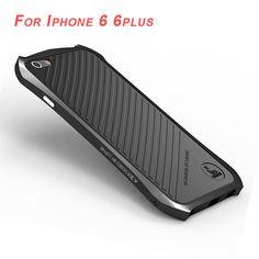 I6 6S Luxury Brand Luphie Aluminum Metal Frame Strip Case For Apple iPhone 6 6S/6 Plus/6S Plus Ultra Slim Design