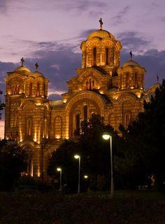 Church Sv.Marko (Belgrade) Serbia