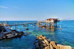 #Trabocco Punta Cavalluccio in Rocca S. Giovanni - #AbruzzoRuralProperty