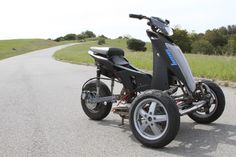 The prototype pictured here is powered by a 60-V, 20-Ah lithium iron phosphate battery pack, which...