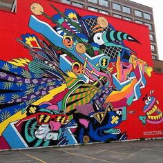 Montreal Street Art, Boulevard St. Laurent