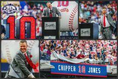 Braves Baseball, Baseball Stuff, Chipper Jones, I Miss Him, Atlanta Braves, Retirement, Idol, Game, Country