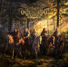 Laura Sava. Band: Arkona. Album: Decade of glory