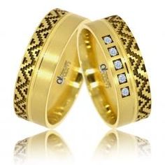 Verighete Zaraza aur galben Aur, Bangles, Rings, Wedding, Bracelets, Valentines Day Weddings, Weddings, Mariage, Marriage