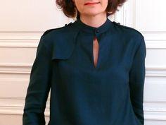 Blouse Rocaille - Dessine-moi un patron