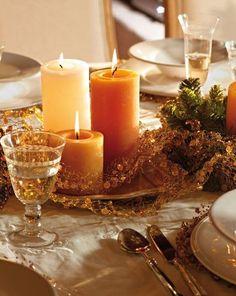 """""""A vidéki otthon"""": Karácsonyi ünnepi asztalok.."""