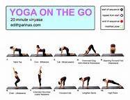 Yoga On The Go #2 – 20 Minute Vinyasa Flow | Yoga with Edith