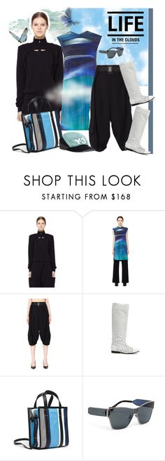 """SVMOSCOW - Y-3"" by carola-corana ❤ liked on Polyvore featuring Y-3, Comme des Garçons, Balenciaga and svmoscow"