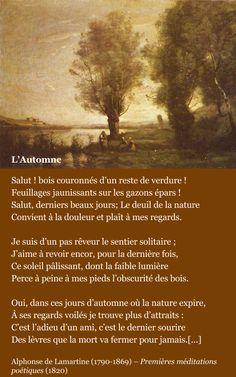 LAMARTINE, L'automne | À la française …