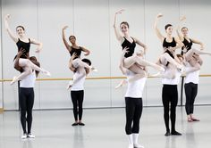 The School of Richmond Ballet,  partnering Class