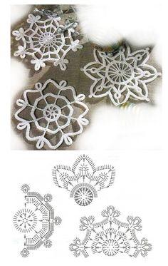 Crochet Tree, Crochet Angels, Crochet Ornaments, Crochet Mandala, Crochet Doilies, Free Crochet, Knit Crochet, Crochet Snowflake Pattern, Christmas Crochet Patterns