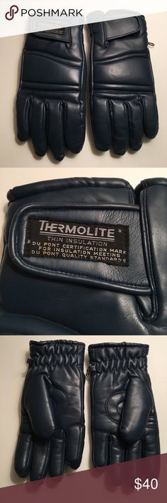Black Sheep Thermolite DU PONT Certification Glove Men Size Large Thermolite winter Thin insulation Du PONT Certification 💯 vinyl shell Lining 💯 Nylon with Foam warm Black Sheep Accessories Gloves
