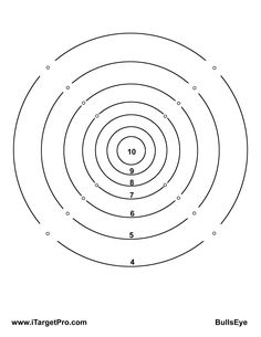 Details about 100 x 14cm Air Rifle Shooting Targets Air