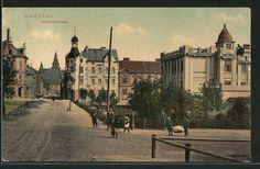 old postcard: AK Komotau / Chomutov, Weitmühlstrasse mit Kindern Old Postcards, City, Painting, Kids, Painting Art, Cities, Paintings, Painted Canvas, Drawings