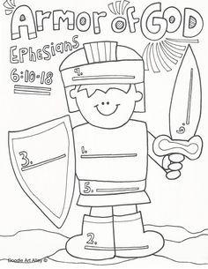 The Christmas Angel blog- teaching the armor of God!