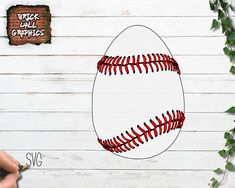 SVG Files for Cricut and Silhouette and other cutting Machines. Make and sell your own items with these SVG Files Baseball Pictures, Egg Decorating, Svg Files For Cricut, Make And Sell, Filing, Printing Services, Easter Eggs, Clip Art, Things To Sell