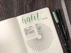7 Ideen für deinen Habit Tracker im Bullet Journal #bulletjournal #tracker