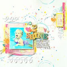 Love you, Sunshine *My Scraps & More* - Scrapbook.com