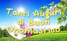 Tanti Auguri di Buon Onomastico Happy Day, Bellisima, Congratulations, Happy Birthday, Neon Signs, Anna, Party, Photos, Spring