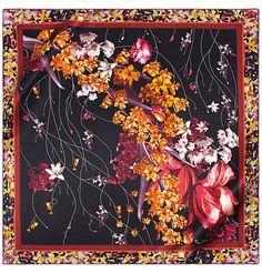 Silk Square Scarf - H_Ladybird4 by VIDA VIDA i8qyg
