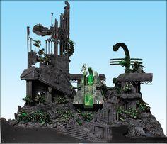Galerie Armies on Parade Warhammer 40k Necrons, Warhammer Armies, 40k Armies, Warhammer Terrain, Warhammer Models, Warhammer Fantasy, Game Terrain, 40k Terrain, Necron Army