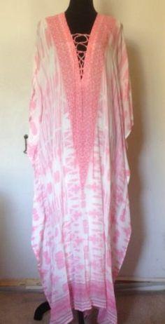 Brand NEW Camilla Franks ST Lucia Long Lace UP Kaftan | eBay