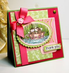 Inspired and Unscripted: Stampin Up, House Mouse and Penny Black Cards