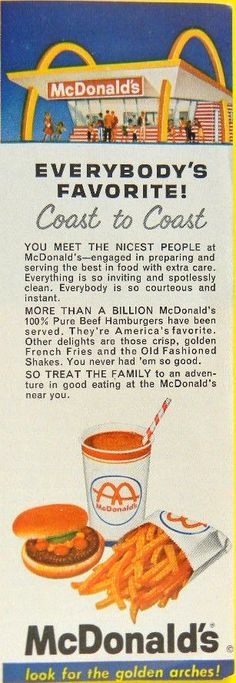 McDonald's  Everybody's Favorite!