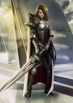 Final Fantasy 9 Beatrix Solo by dlimsketch on DeviantArt