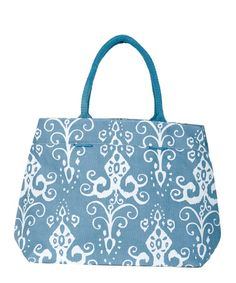 Take a look at this Azure Roussillion City Tote by rockflowerpaper on #zulily today!