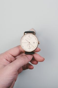 Designed in Melbourne, Huckleberry & Co. Watches have created a beautiful Bauhaus inpsired automatic timepiece.