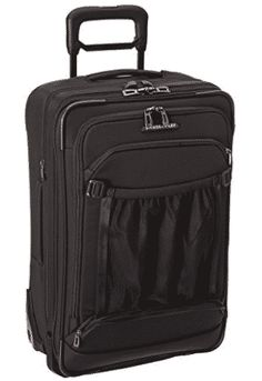Enjoy exclusive for Briggs Riley International Carry-On Expandable Wide-Body Upright, Black, One Size online - Onlineshoppingoffers Best Carry On Luggage, Luggage Sets, Travel Luggage, Luggage Reviews, Checked Luggage, Luggage Accessories, Wide Body, Computer Bags, Small Backpack