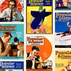 Classic Magazine Posters