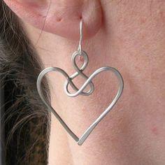 Angel earrings celtic jewelry