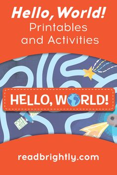 Kids can explore the ocean floor, shoot up to outer space, and get to know the critters in their own backyard through these delightful HELLO, WORLD! printables. Solar System Coloring Pages, Bug Coloring Pages, Printable Coloring Pages, Jill Mcdonald, Dinosaur Coloring, Outside World, Toddler Books, Our Solar System, Child Love