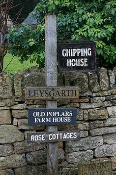 Cotswolds Signage, Chipping Campden