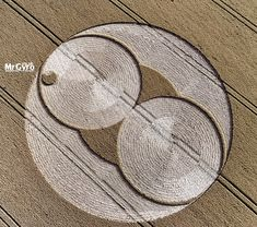 Crop Circle at The Belt, Nr Fairford, Gloucestershire. Reported 21st July 2015
