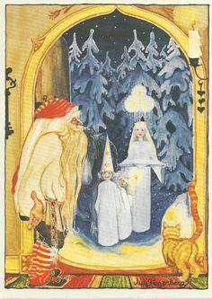 Santa Lucia - big part of my childhood Swedish Christmas