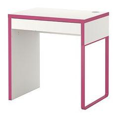 MICKE Escritorio - blanco/rosa - IKEA 40€ Martina